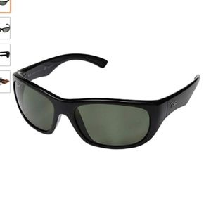 Ray-Ban RB4177 Polarized 601/58 Black Sunglasses
